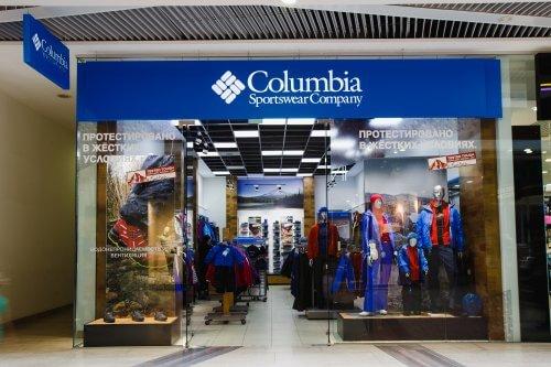 Одежда Columbia Магазин